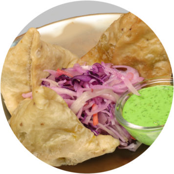 30. VEGETABLES SAMOSA