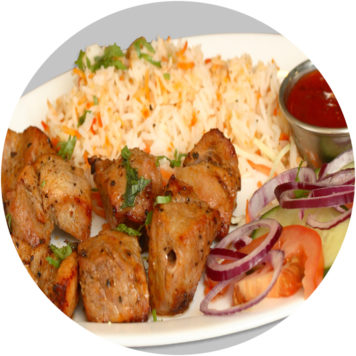41. CHICKEN SHASHLIK