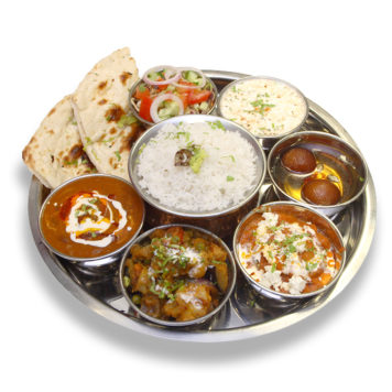 61. VEGETABLES THALI