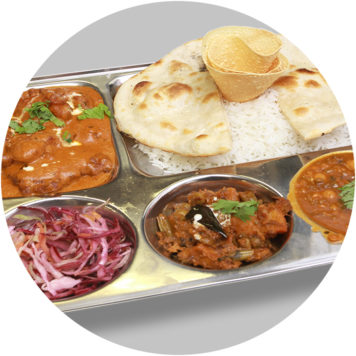 66. SMALL FISH THALI