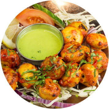 15. TANDOORI MUSHROOMS