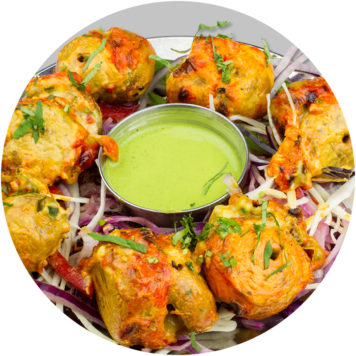 16. TANDOORI MALAI MUSHROOMS