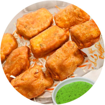 23. CHEESE PAKORA