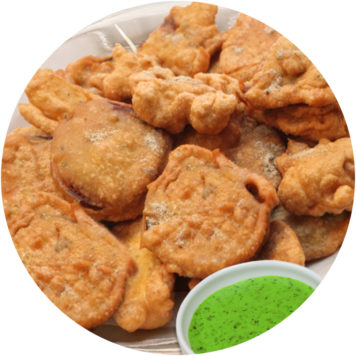 24. VEGETABLE PAKORA
