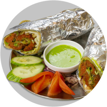 26. LITTLE INDIA WRAP WITH LAMB