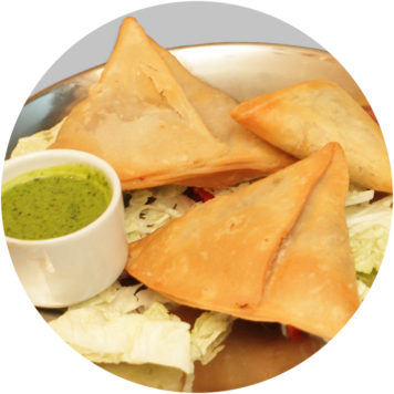 29. CHICKEN SAMOSA