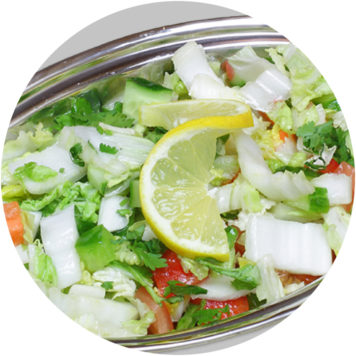 34. Värske salat