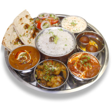 57. CHICKEN THALI