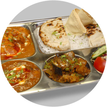 64. SMALL PORK THALI